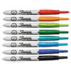 Sharpie Retractable Permanent Marker, Ultra Fine Tip, Assorted Colors, 8/Set
