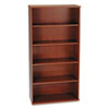 "36""W 5-Shelf Bookcase Series C Hansen Cherry"