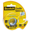 Scotch 667 Double-Sided Removable Tape and Dispenser, 3/4