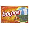 Bounce Fabric Softener Sheets, 25 Sheets/Box, 15 Boxes/Carton