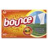 Bounce Fabric Softener Sheets, 160 Sheets/Box