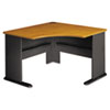 "48""W Corner Desk Series A Natural Cherry"
