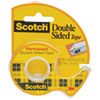 Scotch 665 Double-Sided Permanent Tape w/Hand Dispenser, 1/2