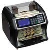 Royal Sovereign Electric Bill Counter w/Counterfeit Detection, 900-1400 Bills/Min, Black/Silver