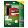 Avery Durable Self-Laminating ID Labels - AVE 00757