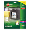 Avery Durable Self-Laminating ID Labels - AVE 00755
