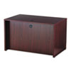 BL Laminate Series Rectangular Desk Shell, 48w x 30w x 29h, Mahogany