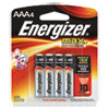 Energizer MAX Alkaline Batteries, AAA, 4 Batteries/Pack