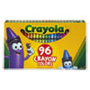 Crayola Classic Color Pack Crayons, 96 Colors/Box