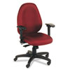 VL600 Series High-Performance High-Back Task Chair, Burgundy