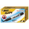 BIC Marking Chisel Tip Permanent Marker, Rambunctious Red, Dozen