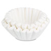 BUNN Coffee Filters, 10/12-Cup Size, 100/Pack