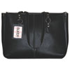 Madison Tote, Genuine Leather, 15 7/8w x 5d x 12 3/8h, Black