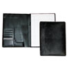 Men's Classic Pad Folio/Writing Pad, 8 1/2 x 11, Black, Each