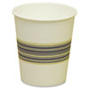 Paper Hot Cups, 10 oz., Blue &amp; Tan, 20 Bags of 50, 1000/Carton