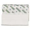 Boardwalk Green Plus Multifold Towels, White, 9 1/8 x 9 1/2, 250/Pack, 12 Packs/Carton