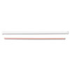 "Jumbo Straws, 7 3/4"", Plastic, Red, White, 500/Pack, 24 Packs/Carton"