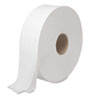JRT Bath Tissue, Jumbo, Two-Ply, White, 2000 Feet/Roll, 6 Rolls/Carton