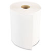 Boardwalk Hardwound Paper Towels, Nonperforated 1-Ply White, 350ft, 12 Rolls/Carton
