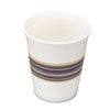 Paper Hot Cups, 8 oz., Blue &amp; Tan, 20 Bags of 50, 1000/Carton