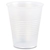 Plastic Cold Cups, 3oz, Translucent
