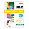 Boise HD:P Presentation Laser 3 Hole Punch Paper, 96 Brightness, 24lb, Ltr, WE, 500/Rm
