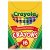 Crayola Classic Color Pack Crayons, Tuck Box, 16 Colors/Box