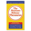 Merriam Webster The Merriam-Webster Thesaurus, Dictionary Companion, Paperback, 800 Pages