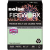 Boise FIREWORX Colored Paper, 20lb, 8-1/2 x 11, Popper-mint Green, 500 Sheets/Ream
