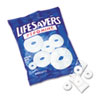 LifeSavers Hard Candy, Pep-O-Mint Flavor, Individually Wrapped, 6.25oz Bag
