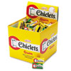 Chiclets Chewing Gum, Peppermint or Spearmint, 2 Pieces/Pack, 200 Packs/Box