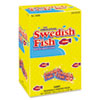 Swedish Fish Grab-and-Go Candy Snacks In Reception Box, 240 Pieces/Box