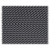 3M Nomad 6250 Z-Web Medium-Traffic Scraper Matting, 48 x 72, Gray