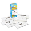 Flash Cards, Basic Sight Words, 3w x 6h, 102/Pack