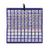 Carson-Dellosa Publishing Hundreds Pocket Chart with 100 Clear Pockets, Colored Number Cards, 26 x 26