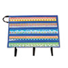 "Border Storage Pocket Chart, Blue/Clear, 41"" x 24 1/2"
