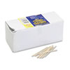 Flat Wood Toothpicks, , Wood, Natural Wood, 2500/Pack