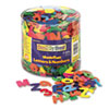 Creativity Street Wonderfoam Letters and Numbers, 1/2 Lb. Tub, Approximately 1,500 Pieces