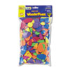 Chenille Kraft Wonderfoam Shapes, Assorted Shapes/Colors, 720 Pieces/Pack