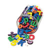 Chenille Kraft Wonderfoam Magnetic Alphabet Letters, Assorted Colors. 105/Pack