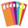 Creativity Street WonderFoam Door Knob Hangers, Six Assorted Colors