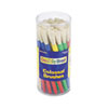Creativity Street Colossal Brush Set, Natural Bristle, Round, 30/Set