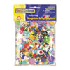 Creativity Street Sequins & Spangles, Assorted Metallic Colors, 4 oz/Pack