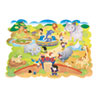 Zoo Animals Floor Puzzle, Cardboard, 54 Pieces, 4 ft. x 3 ft., Ages 3 and Up