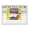 Chenille Kraft Magnetic Dry Erase Board, 12 x 9, 10/Set