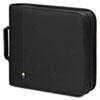 Case Logic CD/DVD Expandable Binder, Holds 208 Disks, Black