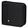 Case Logic CD/DVD Expandable Binder, Holds 24 Disks, Black