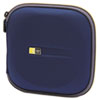 Case Logic CD Wallet, Holds 24 Disks, Blue