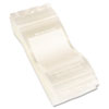 Write-On Recloseable Small Parts Bags, Poly, 3 x 5, Clear, 1000/Carton