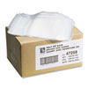 Write-On Recloseable Small Parts Bags, Poly, 5 x 8, Clear, 1000/Carton